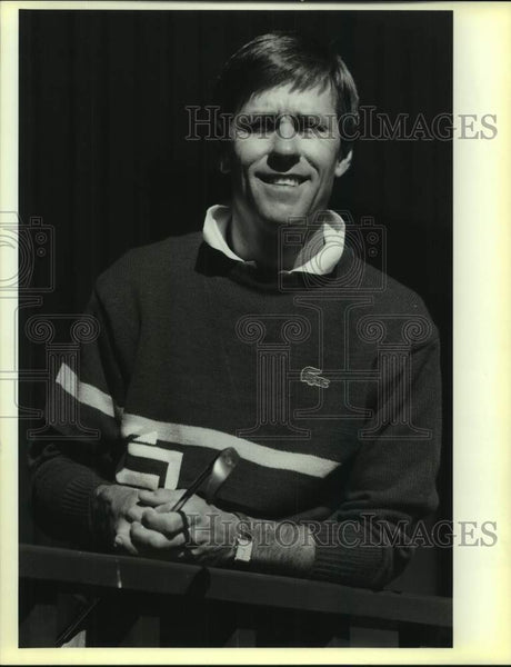 1988 Press Photo Golfer Bill Rogers at Precision Golf Center - sas17003 - Historic Images