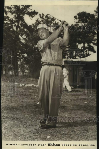 Press Photo Golfer Billy Maxwell - sas17073 - Historic Images