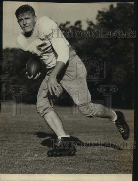 "Press Photo University of Texas football player ""Big Ed"" Mattson - sas17092 - Historic Images"