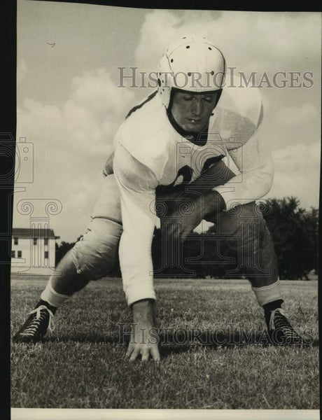 Press Photo University of Texas football player Harold King - sas17095 - Historic Images