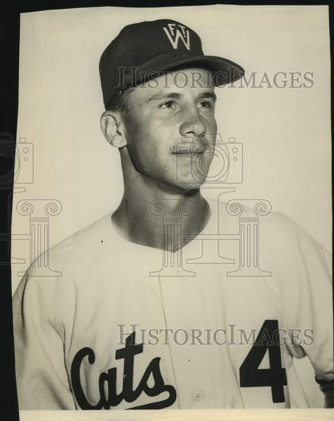 Press Photo Fort Worth baseball player Mike Korchesk - sas17108 - Historic Images