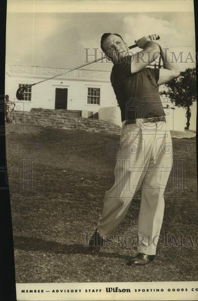 Press Photo Golfer Chuck Klein - sas17135 - Historic Images