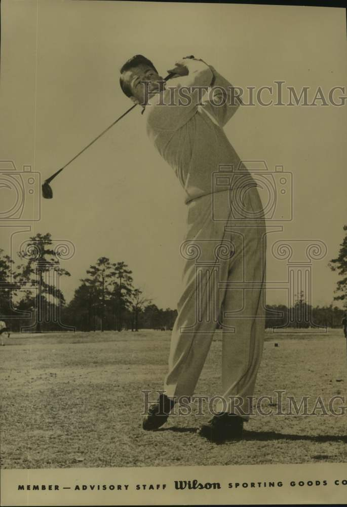 Press Photo Golfer Walker Inman Jr. - sas17148 - Historic Images