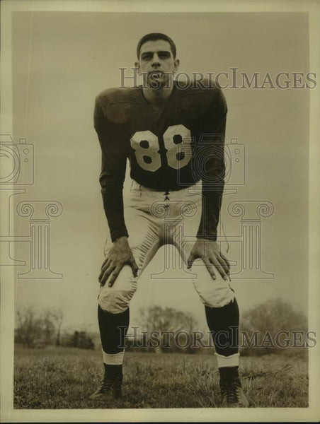Press Photo Indiana college football player Bob Inserra - sas17150 - Historic Images