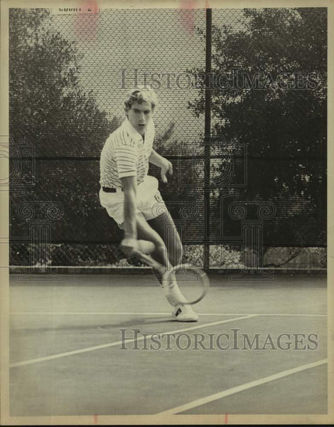 1978 Press Photo Tennis player Eric Iskersky - sas17155 - Historic Images