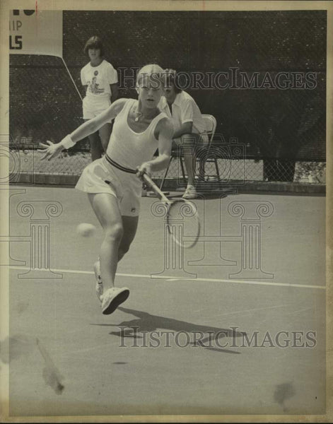 1978 Press Photo Tennis player Stacy Margolin - sas17156 - Historic Images