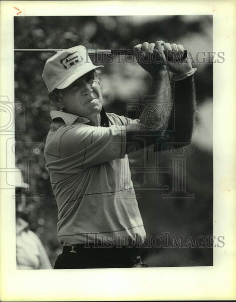 1985 Press Photo Senior PGA Tour golfer Gene Littler - sas17172 - Historic Images