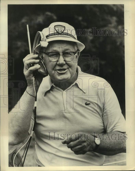 Press Photo Golf champion and broadcaster Byron Nelson - sas17185 - Historic Images
