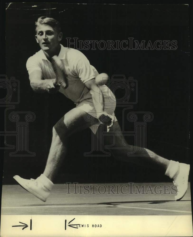Press Photo Tennis player Lewis Hoad - sas17214 - Historic Images