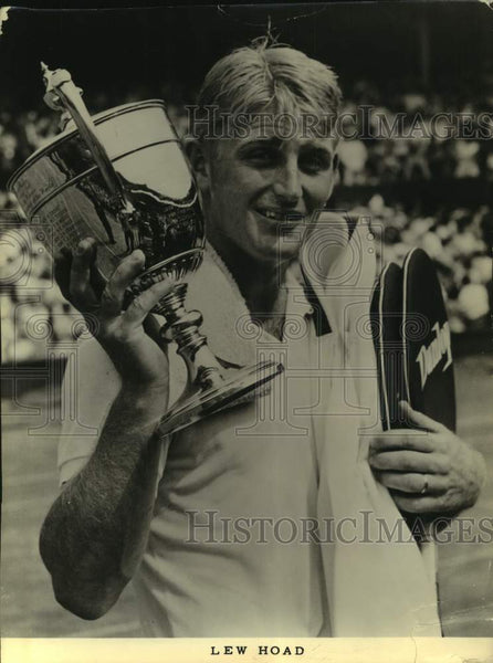 Press Photo Tennis player Lew Hoad - sas17216 - Historic Images