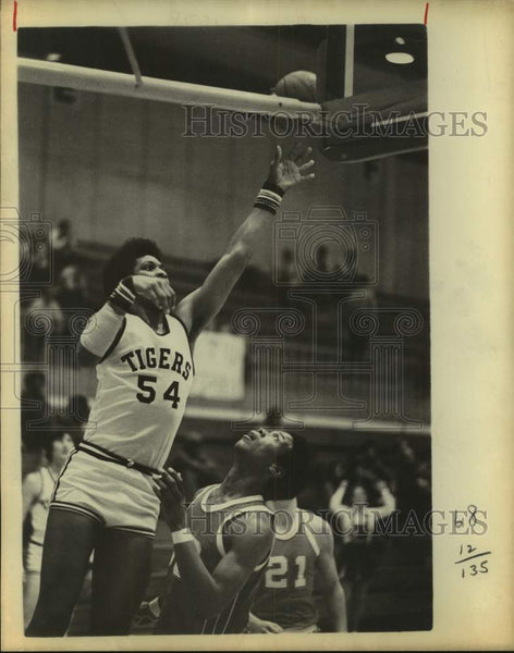 1978 Press Photo Tigers basketball player Danny Ivey - sas17225 - Historic Images