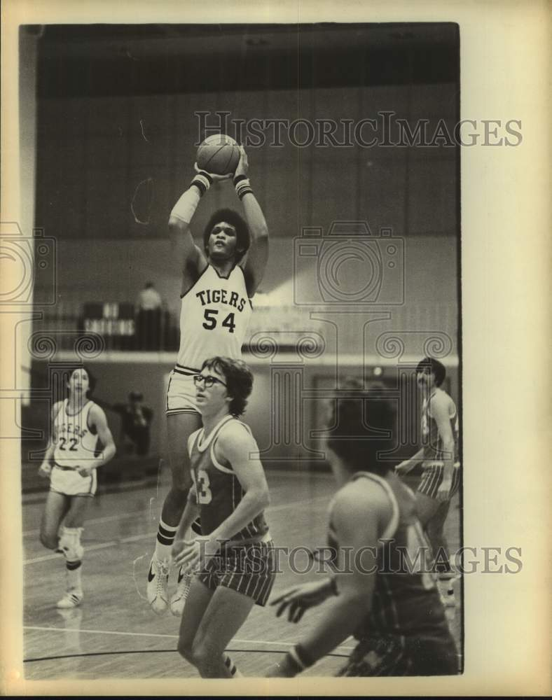 1978 Press Photo Trinity college basketball player Danny Ivey - sas17226 - Historic Images