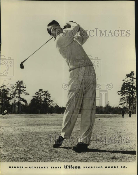 Press Photo Golfer Walker Inman Jr. - sas17233 - Historic Images