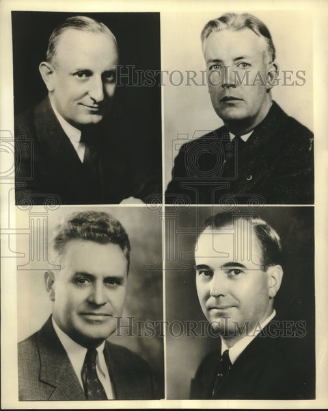 Press Photo Business Executives - sbx14844 - Historic Images