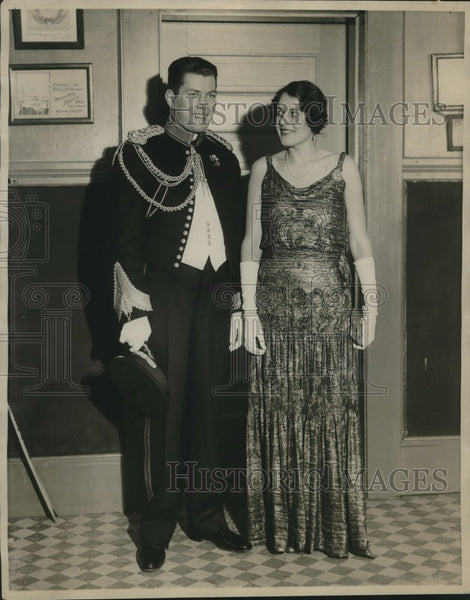 Press Photo Gene Tunney and Wife - sbx14861 - Historic Images