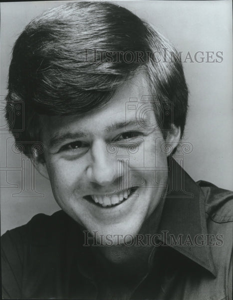 Press Photo TV Correspondent-Richard Bey - spa70060 - Historic Images