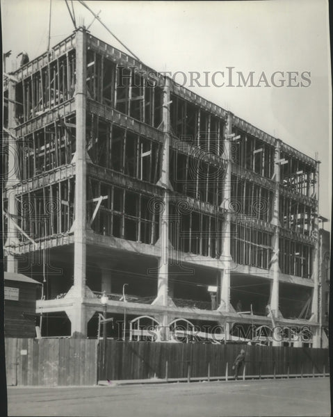 1927 Press Photo Spokane Chronicle Building - Historic Images