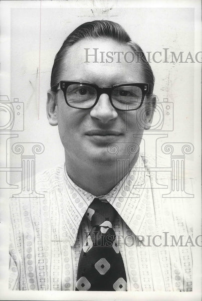 1973 Press Photo Rev Jimmie Harrold, Nazarene church, Smith Hill, Spokane - Historic Images