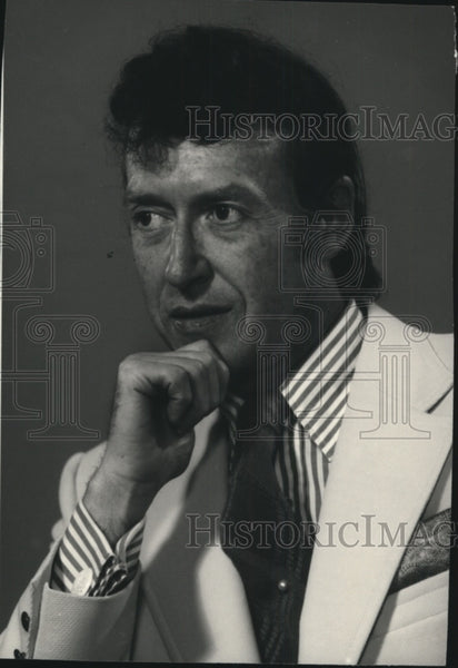 1878 Press Photo Willard Schultz, Spokane Music Festival Piano Adjudicator - Historic Images