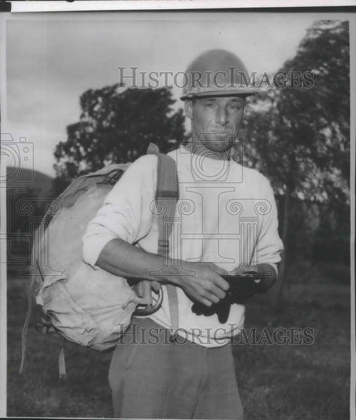 1963 Press Photo David Mahre, leader of Mt Rainier's Willis Wall expedition - Historic Images