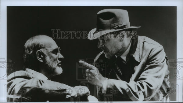 1990 Press Photo Harrison Ford stars in Indiana Jones and the Last Crusade. - Historic Images