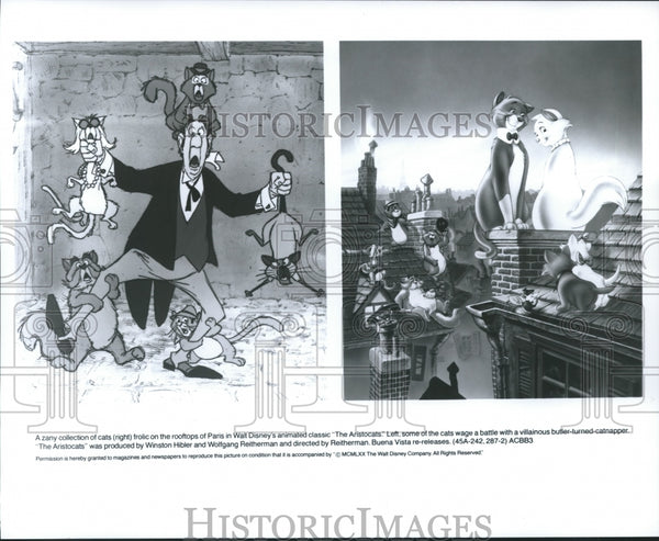 1970 Press Photo A scene from Walt Disney Productions' The Aristocrats. - Historic Images