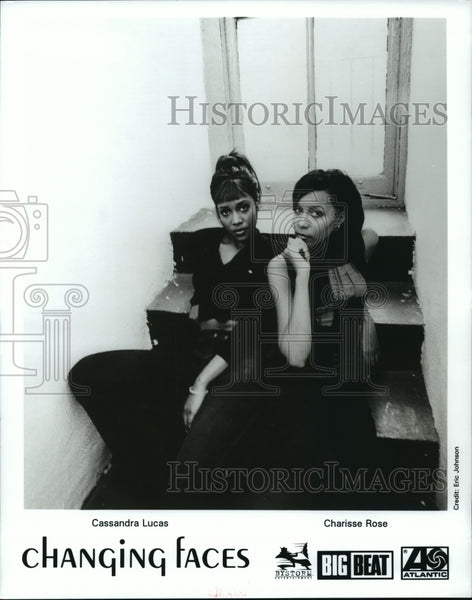 1997 Press Photo American female R&B duo, Changing Faces - Historic Images