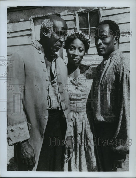 "1977 The cast of ""Roots"" - Historic Images"