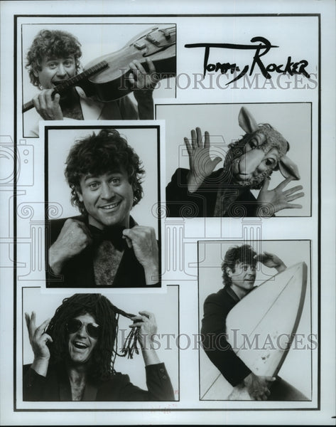 1985 Press Photo Tommy Rocker, musician - Historic Images
