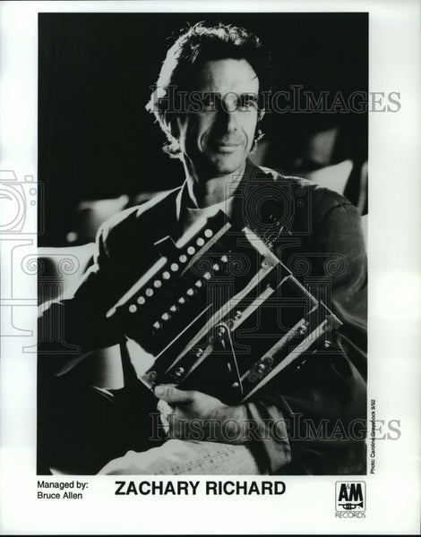 1992 Zachary Richard, musician - Historic Images