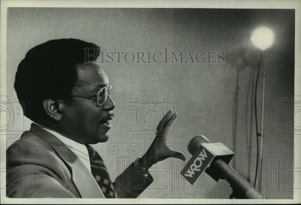 1975 Press Photo I.T.T. Equal Opportunity Director James Nixon, Albany, New York - Historic Images