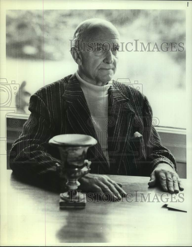 1982 Press Photo Former CIA Deputy Director Herbert Scoville, Jr. - tua14497 - Historic Images