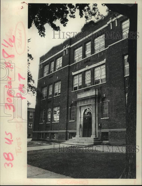 1979 Press Photo First Street School, Scotia, New York - tua14533 - Historic Images