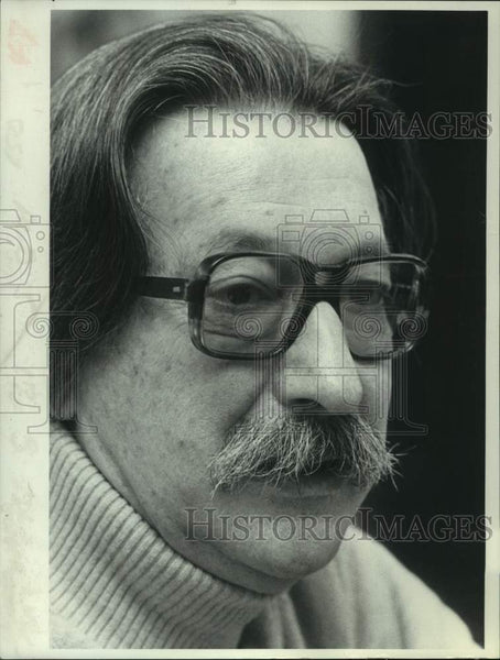 1979 Press Photo Dr. Joseph Weizenbaum, Computer Scientist - tua14886 - Historic Images