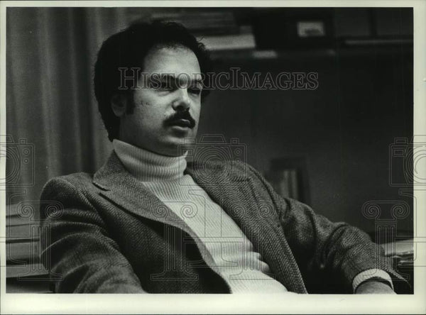 1978 Press Photo Terry S. Weiner, Sociology Professor, Union College, New York - Historic Images