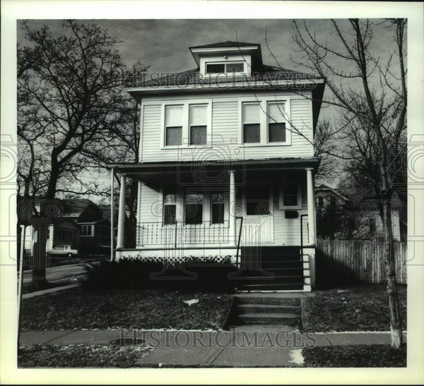 1993 Press Photo Albany, New York home on North Pearl Street - tua15443 - Historic Images