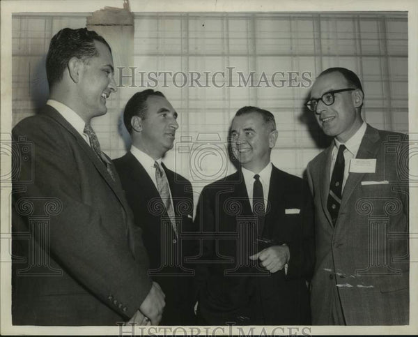 Press Photo Young Lawyers Section officers, New York State Bar Association - Historic Images