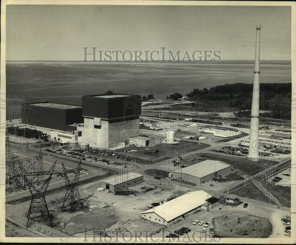 1975 Press Photo Nuclear Power Plant in the Town of Scriba, New York - tua15777 - Historic Images