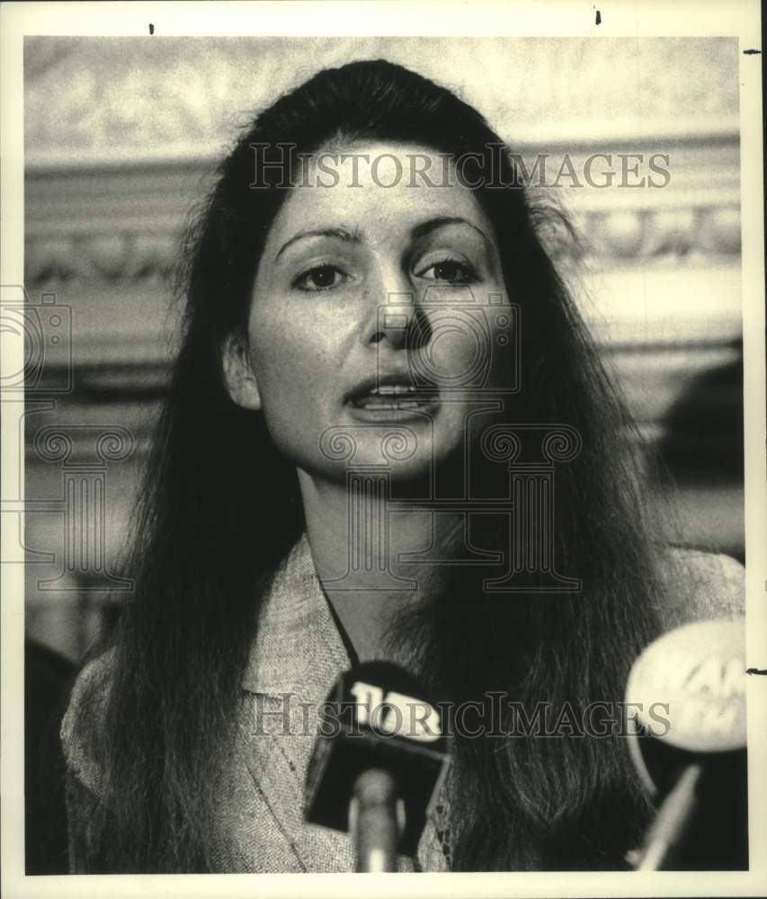 1987 Press Photo Carol Bollinger-Sasaki, Rockefeller College of Government, NY - Historic Images