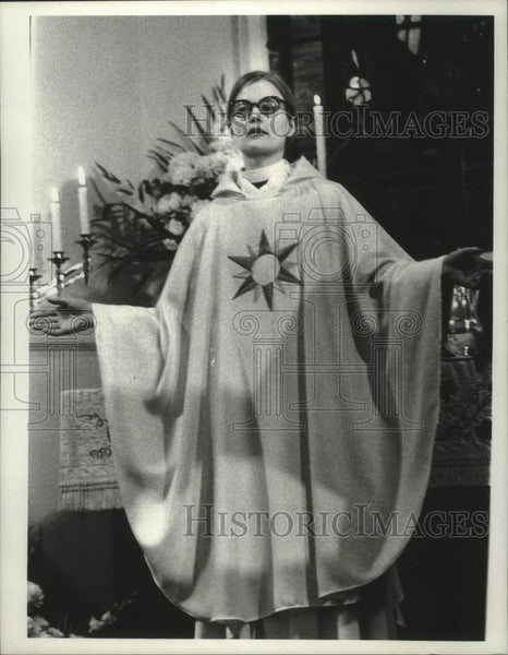 1975 Press Photo Reverend Alice Moberg-Sarver, New York - tua16135 - Historic Images