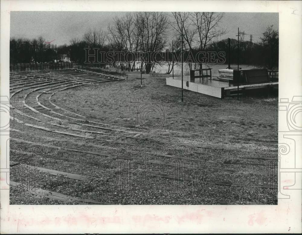 1981 Press Photo Freedom Park Theater in Collins Park, Scotia, New York - Historic Images