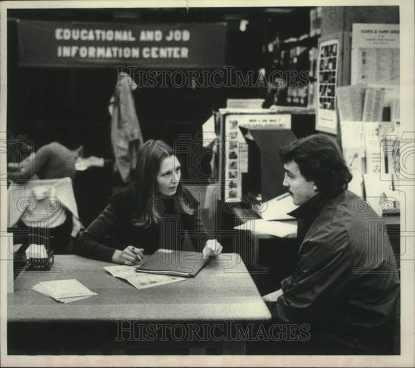 1979 Press Photo Schenectady NY County Library Educational & Job Info Center - Historic Images