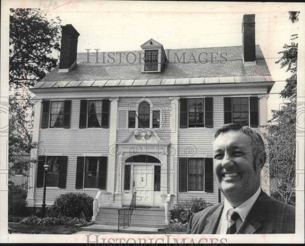 1979 Press Photo Schenectady County Historical Society headquarters, New York - Historic Images
