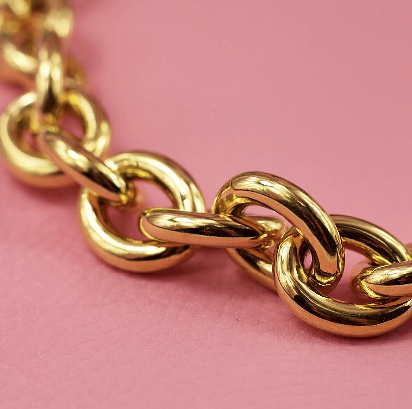 Dolly Chain Link Bracelet