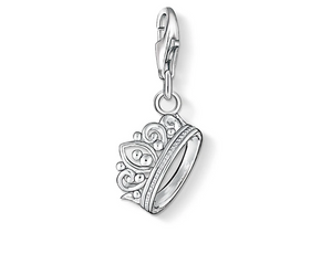 STERLING SILVER CROWN THOMAS SABO CHARM