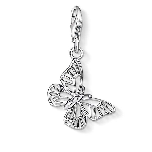 STERLING SILVER BUTTERFLY THOMAS SABO CHARM