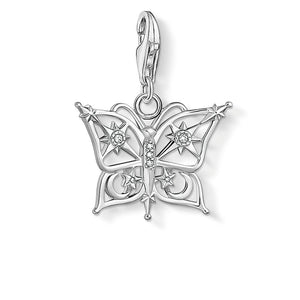 THOMAS SABO CZ BUTTERFLY CLIP CHARM