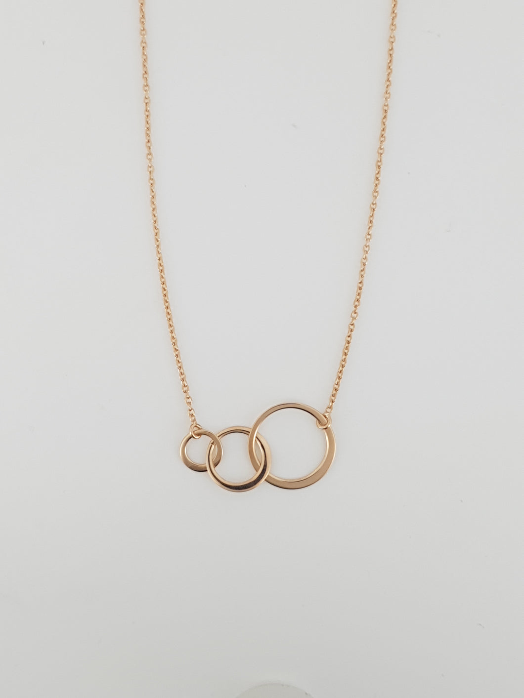 ROSE GOLD CIRCLE GENERATION NECKLACE