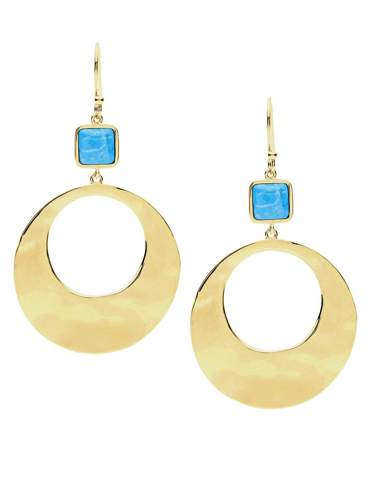 PASTICHE BLUE LAGOON EARRINGS