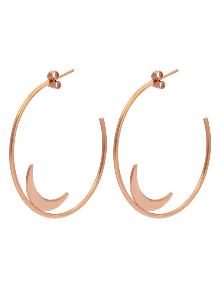 PASTICHE SUMMER MOON HOOPS